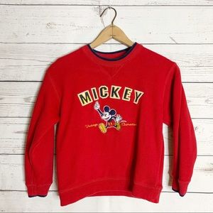 Mickey Mouse Disney World Vtg Classic Sweatshirt